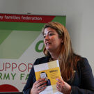 AFF CEO Sara Baade at research event